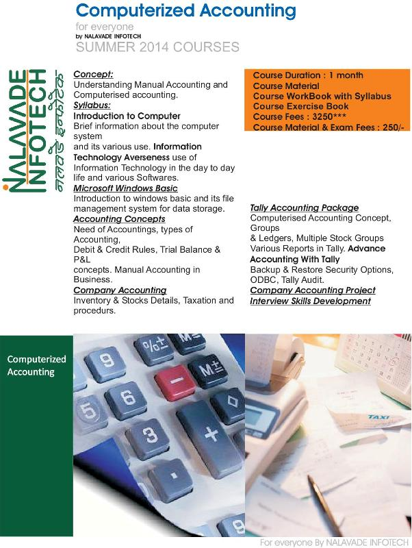 Computerized Accounting Course